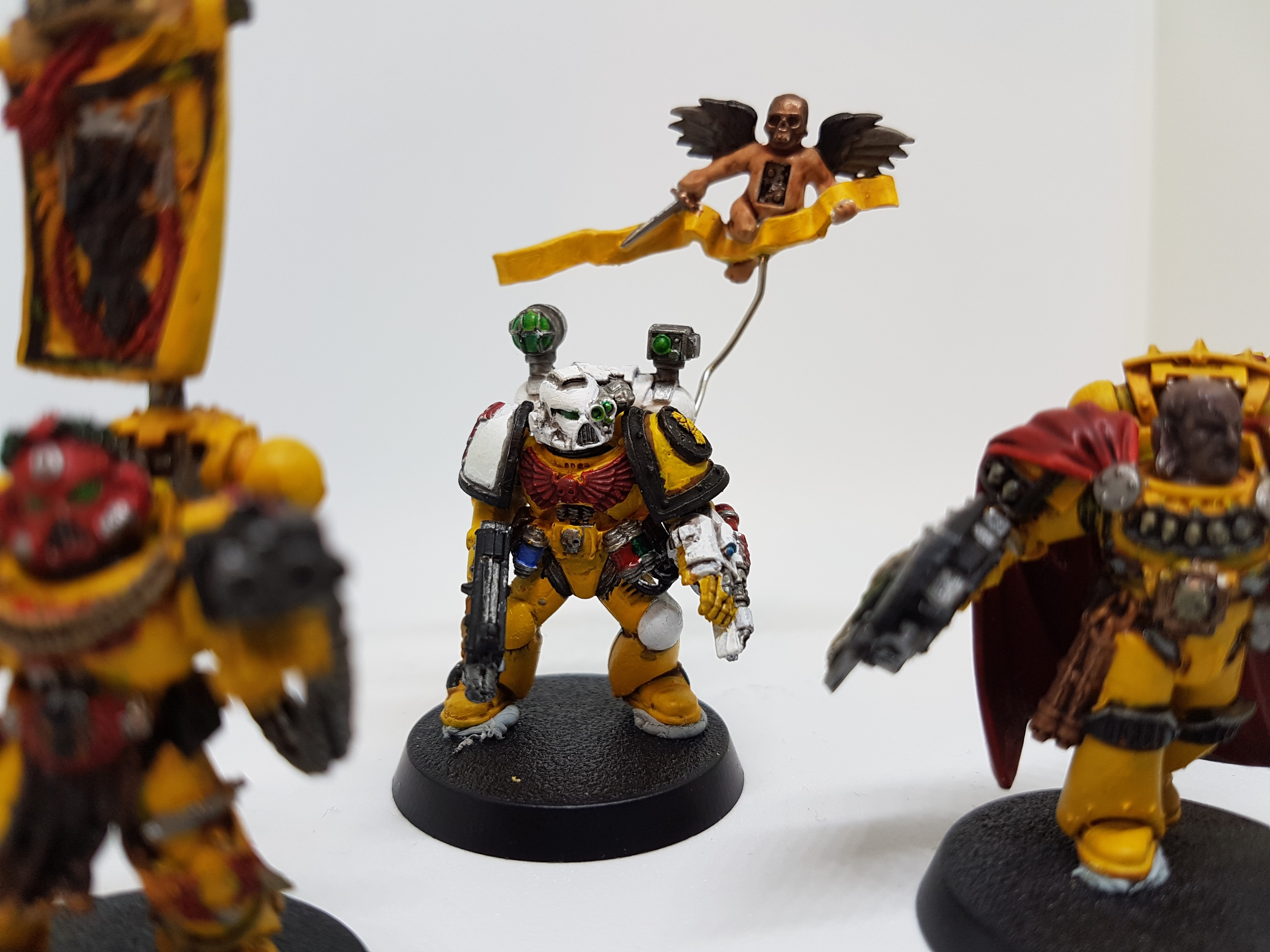 Painting Guide: Imperial Fists – Hobbit Hobbies Makes